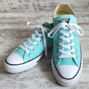 NWOT Converse Aruba Blue Chucks Sneakers